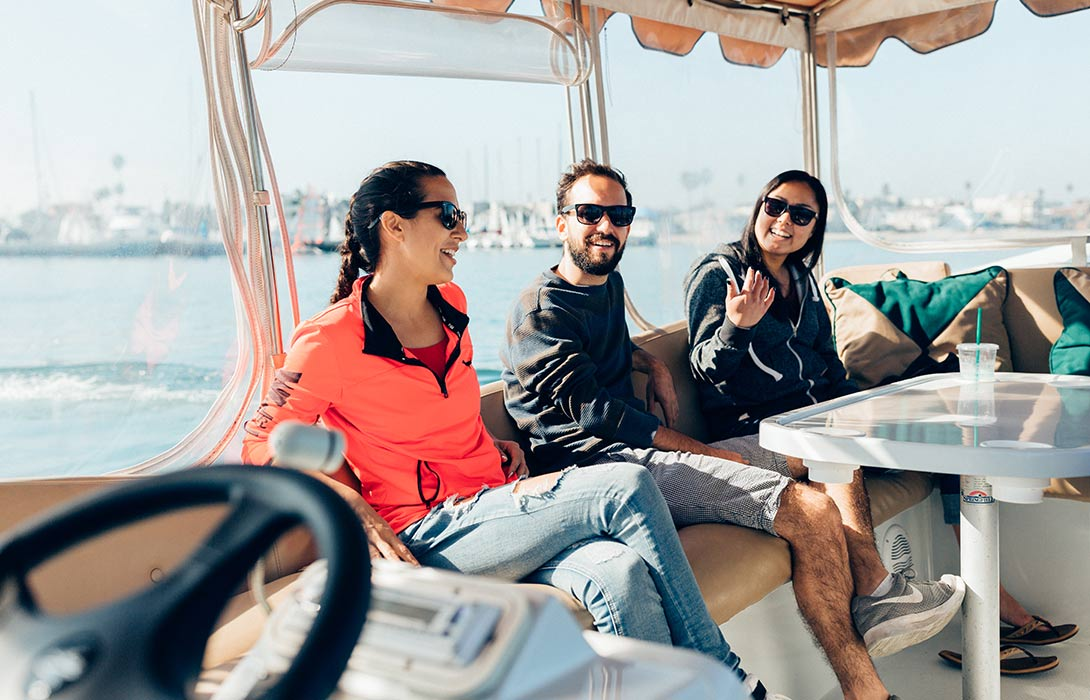 Seaside Boat Rentals in Long Beach